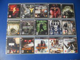Sony Playstation 3 konzolra gyári karcmentes használt játékok nagy választékban, főkép