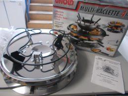 Új Unold 48716 Multi-Raclette 4in1 grillsütő, főkép