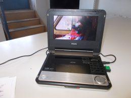 Philips pet 735/00 hordozható DVD-lejátszó jótállással eladó, főkép