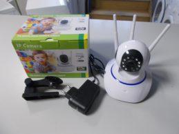 Onvif Forgatható 3 antennás WiFi IP kamera jótállással, főkép