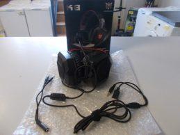 Új Onikuma k8 gaming headset jótállással, főkép
