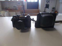 Zenit 12xp retró fényképezőgép, főkép