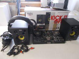 Hercules DJ Kit jótállással, főkép
