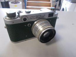 Retro Orosz fényképezőgép, főkép