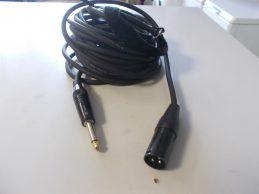 8 méteres xlr 3 pólusu-jack kábel, főkép