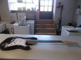 Harley Benton ST-62MN BK elktromos gitár jótállással, főkép