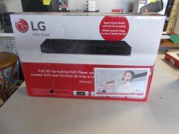 Új LG DP542H DVDlejátszó jótállással, főkép