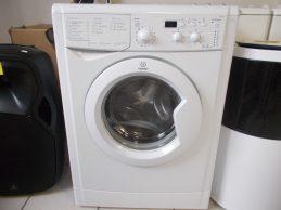 Indesit IWUD4105 mosógép 6 hó jótállással,a gép extra keskeny 33cm mélységü, főkép